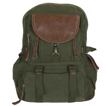 Hipster Back Pack - Parisian City Daypack